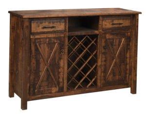 amish wine cabinet
