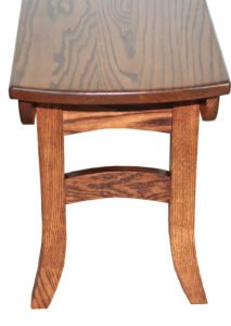 amish dining room benches ohio
