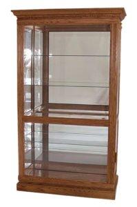 handmade curio cabinets ohio
