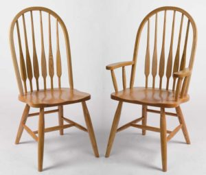 amish dining chairs
