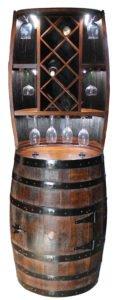 handmade wine holder