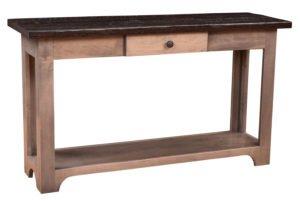 handmade amish sofa tables