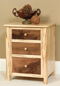 custom amish made nightstands