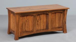 Handmade amish blanket chests